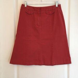 Talbots NWOT Rust orange shirts size 8